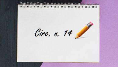 Circolare n.14