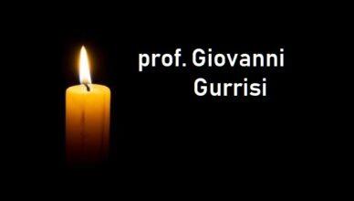 lutto prof. Giovanni Gurrisi
